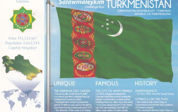 FOTW-Turkmenistan